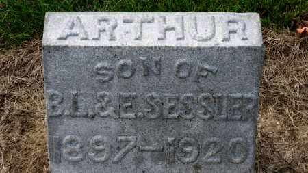 SESSLER, ARTHUR - Erie County, Ohio | ARTHUR SESSLER - Ohio Gravestone Photos
