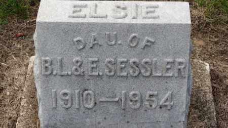SESSLER, ELSIE - Erie County, Ohio | ELSIE SESSLER - Ohio Gravestone Photos