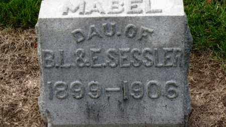SESSLER, MABEL - Erie County, Ohio | MABEL SESSLER - Ohio Gravestone Photos