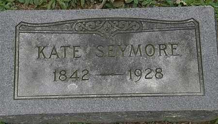 SEYMORE, KATE - Erie County, Ohio | KATE SEYMORE - Ohio Gravestone Photos