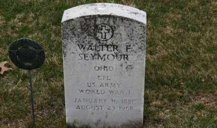 SEYMOUR, WALTER F. - Erie County, Ohio | WALTER F. SEYMOUR - Ohio Gravestone Photos