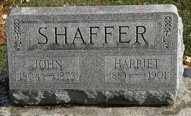 SHAFFER, JOHN - Erie County, Ohio | JOHN SHAFFER - Ohio Gravestone Photos