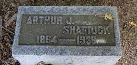 SHATTUCK, ARTHUR J. - Erie County, Ohio | ARTHUR J. SHATTUCK - Ohio Gravestone Photos