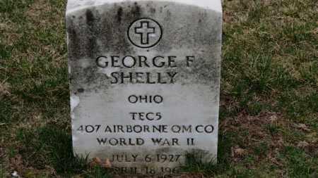 SHELLY, GEORGE F. - Erie County, Ohio | GEORGE F. SHELLY - Ohio Gravestone Photos