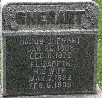 SHERART, JACOB - Erie County, Ohio | JACOB SHERART - Ohio Gravestone Photos