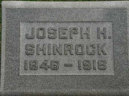 SHINROCK, JOSEPH H. - Erie County, Ohio | JOSEPH H. SHINROCK - Ohio Gravestone Photos