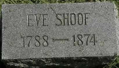 SHOOF, EVE - Erie County, Ohio | EVE SHOOF - Ohio Gravestone Photos