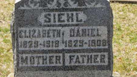 SIEHL, ELIZABETH - Erie County, Ohio | ELIZABETH SIEHL - Ohio Gravestone Photos