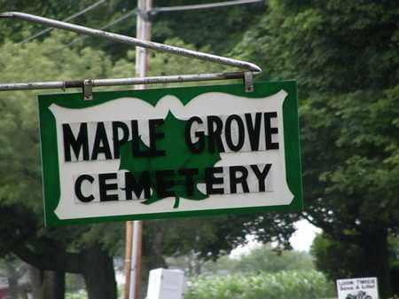 SIGN, CEMETERY - Erie County, Ohio | CEMETERY SIGN - Ohio Gravestone Photos