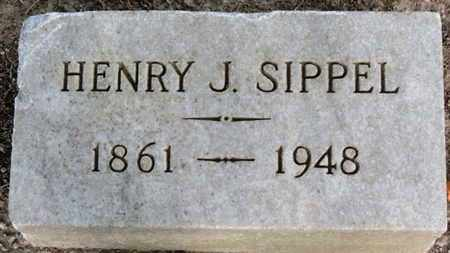 SIPPEL, HENRY J. - Erie County, Ohio | HENRY J. SIPPEL - Ohio Gravestone Photos