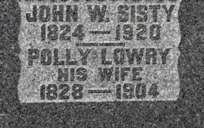 SISTY, POLLY - Erie County, Ohio | POLLY SISTY - Ohio Gravestone Photos