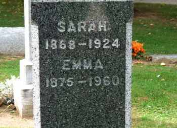 SLACK, EMMA - Erie County, Ohio | EMMA SLACK - Ohio Gravestone Photos
