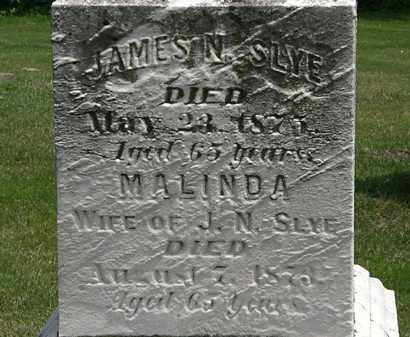 SLYE, JAMES N. - Erie County, Ohio | JAMES N. SLYE - Ohio Gravestone Photos