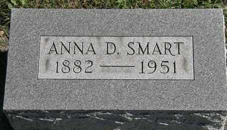 SMART, ANNA D. - Erie County, Ohio | ANNA D. SMART - Ohio Gravestone Photos
