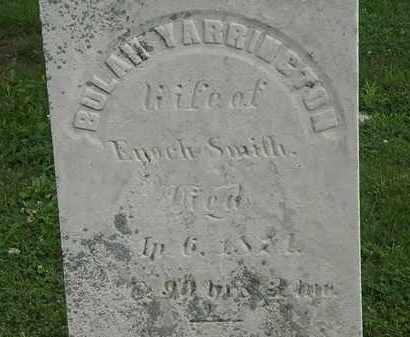 SMITH, BULAH - Erie County, Ohio | BULAH SMITH - Ohio Gravestone Photos