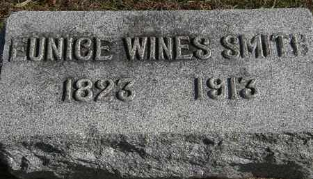 WINES SMITH, EUNICE - Erie County, Ohio | EUNICE WINES SMITH - Ohio Gravestone Photos