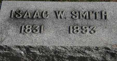 SMITH, ISAAC W. - Erie County, Ohio | ISAAC W. SMITH - Ohio Gravestone Photos
