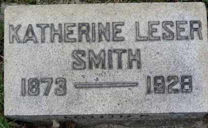 LESER SMITH, KATHERINE - Erie County, Ohio | KATHERINE LESER SMITH - Ohio Gravestone Photos