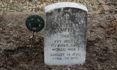SMITH, LESTER D - Erie County, Ohio | LESTER D SMITH - Ohio Gravestone Photos