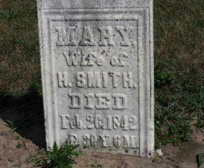 SMITH, MARY - Erie County, Ohio | MARY SMITH - Ohio Gravestone Photos