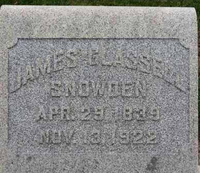 SNOWDEN, JAMES GLASSELL - Erie County, Ohio | JAMES GLASSELL SNOWDEN - Ohio Gravestone Photos