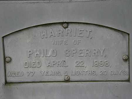 SPERRY, HARRIET - Erie County, Ohio | HARRIET SPERRY - Ohio Gravestone Photos