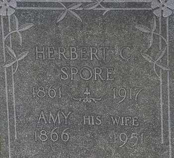 SPORE, AMY - Erie County, Ohio | AMY SPORE - Ohio Gravestone Photos