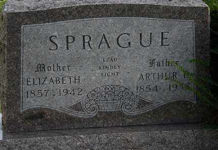 SPRAGUE, ELIZABETH - Erie County, Ohio | ELIZABETH SPRAGUE - Ohio Gravestone Photos