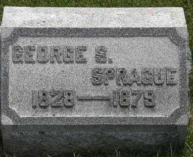 SPRAGUE, GEORGE S. - Erie County, Ohio | GEORGE S. SPRAGUE - Ohio Gravestone Photos