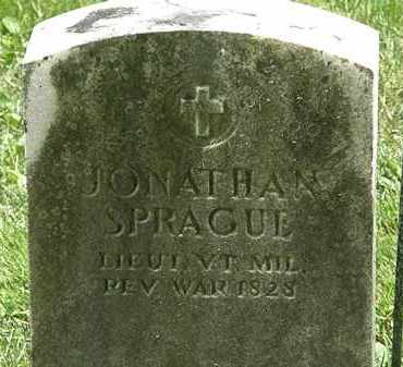 SPRAGUE, JONATHAN - Erie County, Ohio | JONATHAN SPRAGUE - Ohio Gravestone Photos