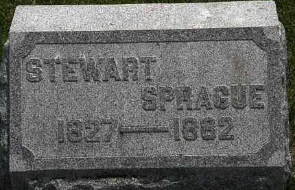 SPRAGUE, STEWART - Erie County, Ohio | STEWART SPRAGUE - Ohio Gravestone Photos