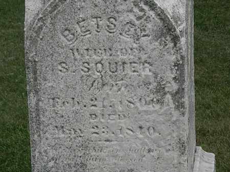 SQUIER, BETSEY - Erie County, Ohio | BETSEY SQUIER - Ohio Gravestone Photos