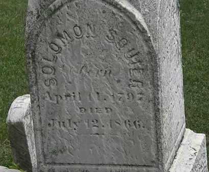SQUIER, SOLOMOM - Erie County, Ohio | SOLOMOM SQUIER - Ohio Gravestone Photos