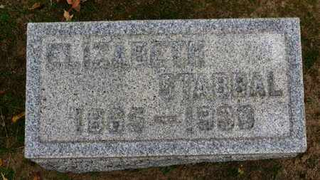 STABBAL, ELIZABETH - Erie County, Ohio | ELIZABETH STABBAL - Ohio Gravestone Photos