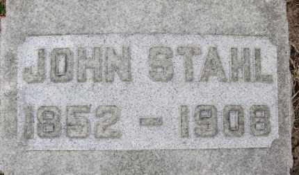 STAHL, JOHN - Erie County, Ohio | JOHN STAHL - Ohio Gravestone Photos