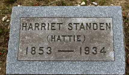 "STANDEN, HARRIET ""HATTIE"" - Erie County, Ohio 