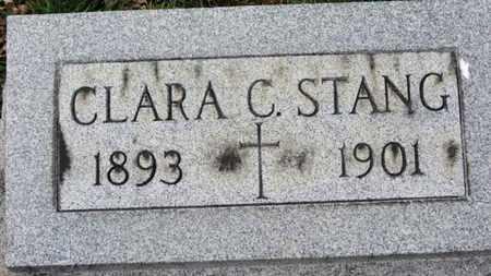 STANG, CLARA C. - Erie County, Ohio | CLARA C. STANG - Ohio Gravestone Photos