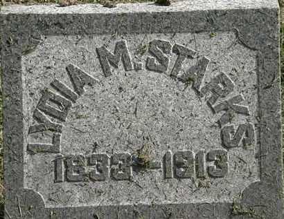 STARKS, LYDIA M. - Erie County, Ohio | LYDIA M. STARKS - Ohio Gravestone Photos