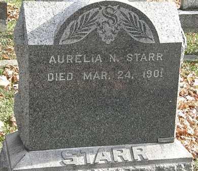 STARR, AURELIA N. - Erie County, Ohio | AURELIA N. STARR - Ohio Gravestone Photos