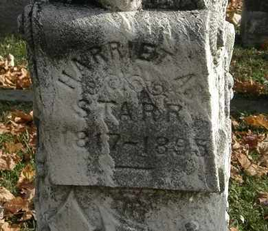STARR, HARRIET A. - Erie County, Ohio | HARRIET A. STARR - Ohio Gravestone Photos
