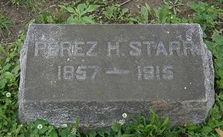 STARR, PEREZ H. - Erie County, Ohio | PEREZ H. STARR - Ohio Gravestone Photos