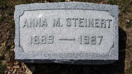 STEINERT, ANNA M. - Erie County, Ohio | ANNA M. STEINERT - Ohio Gravestone Photos
