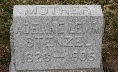 STENZEL, ADALINE - Erie County, Ohio | ADALINE STENZEL - Ohio Gravestone Photos