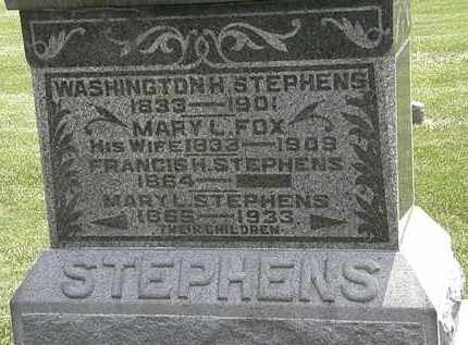 STEPHENS, FRANCIS H. - Erie County, Ohio | FRANCIS H. STEPHENS - Ohio Gravestone Photos