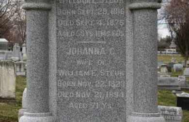 STEUK, JOHANNA C - Erie County, Ohio | JOHANNA C STEUK - Ohio Gravestone Photos