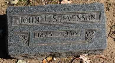 STEVENSON, JOHN T. - Erie County, Ohio | JOHN T. STEVENSON - Ohio Gravestone Photos