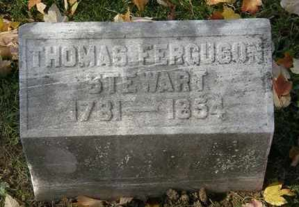 STEWART, THOMAS FERGUSON - Erie County, Ohio | THOMAS FERGUSON STEWART - Ohio Gravestone Photos
