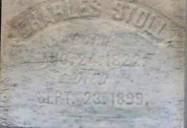 STOLL, CHARLES - Erie County, Ohio   CHARLES STOLL - Ohio Gravestone Photos