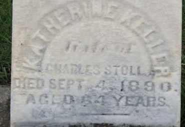 KELLER STOLL, KATHERINE - Erie County, Ohio | KATHERINE KELLER STOLL - Ohio Gravestone Photos