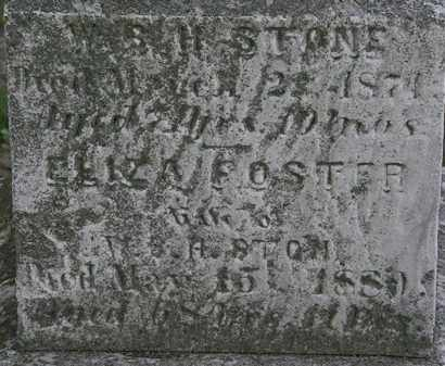 FOSTER STONE, ELIZA - Erie County, Ohio | ELIZA FOSTER STONE - Ohio Gravestone Photos